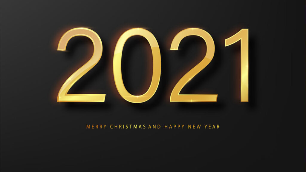2021 happy new year greeting card gold and black vector 31085714 1